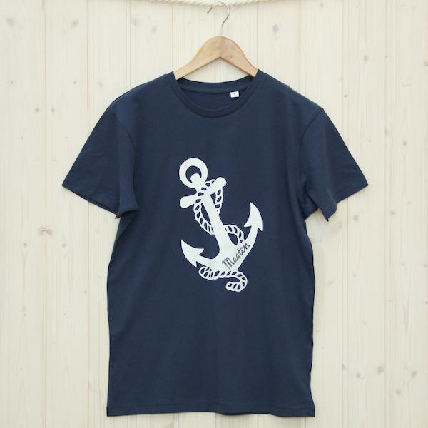 Herren T-Shirt Anker