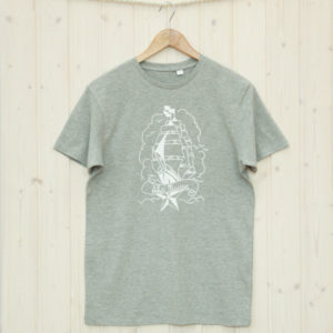 Herren T-Shirt Segelschiff